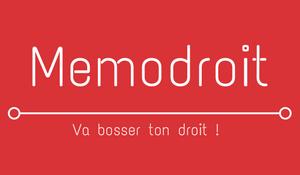 Memodroit logo