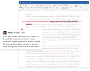 academic proofreading editing services example