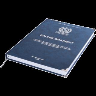 Bachelorarbeit binden Premium Hardcover mit Leseband