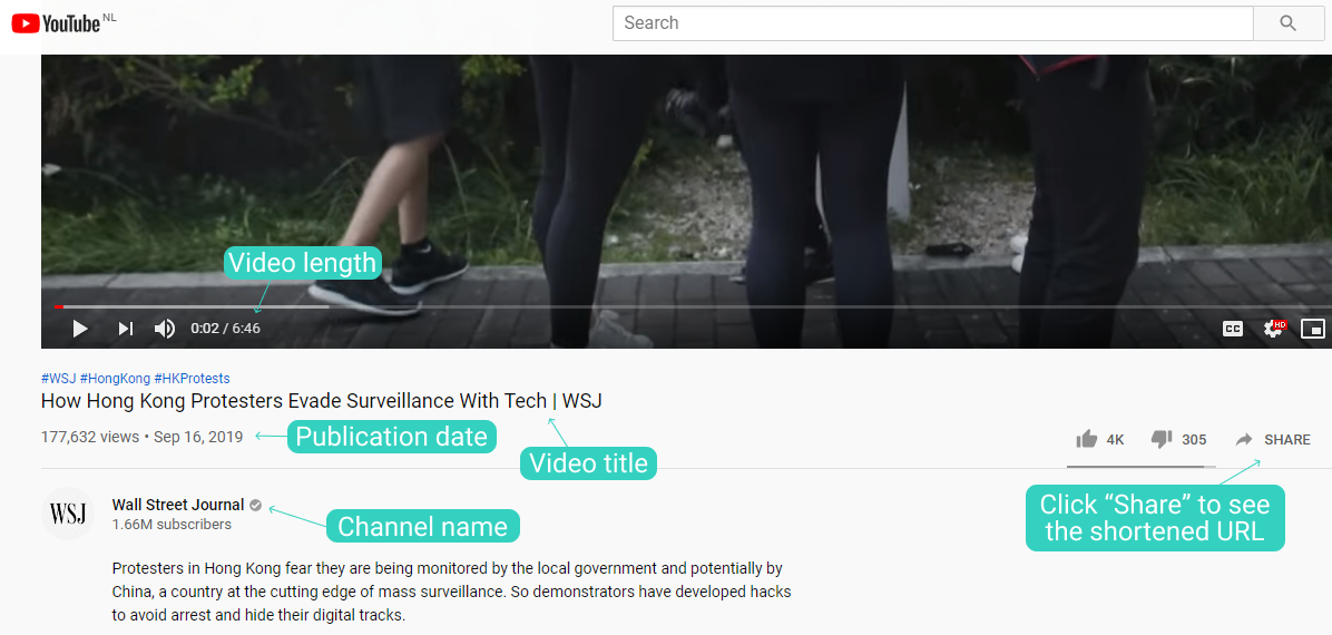 How To Cite A Youtube Video In Turabian Chicago Style