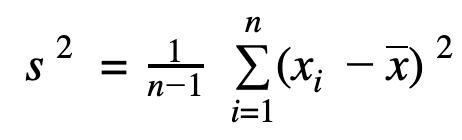 formel-stichprobenvarianz