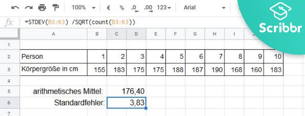 standardfehler-excel-berechnen