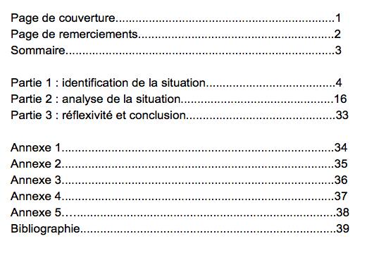 Le Rapport De Stage Fle De La Rédaction à La Soutenance