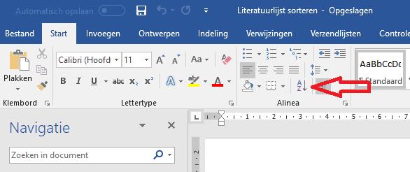 sorteren-start-word