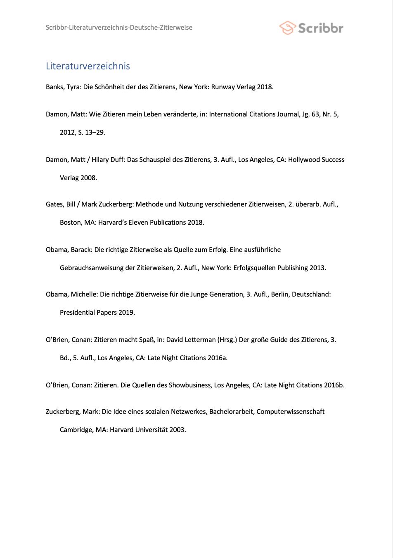 literaturverzeichnis-deutsche-zitierweise-vorschau
