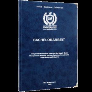 Bachelorarbeit binden Buchecken