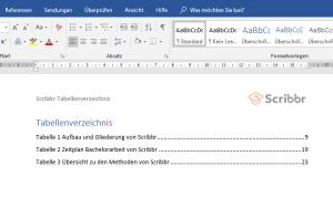 tabellenverzeichnis-word-scribbr