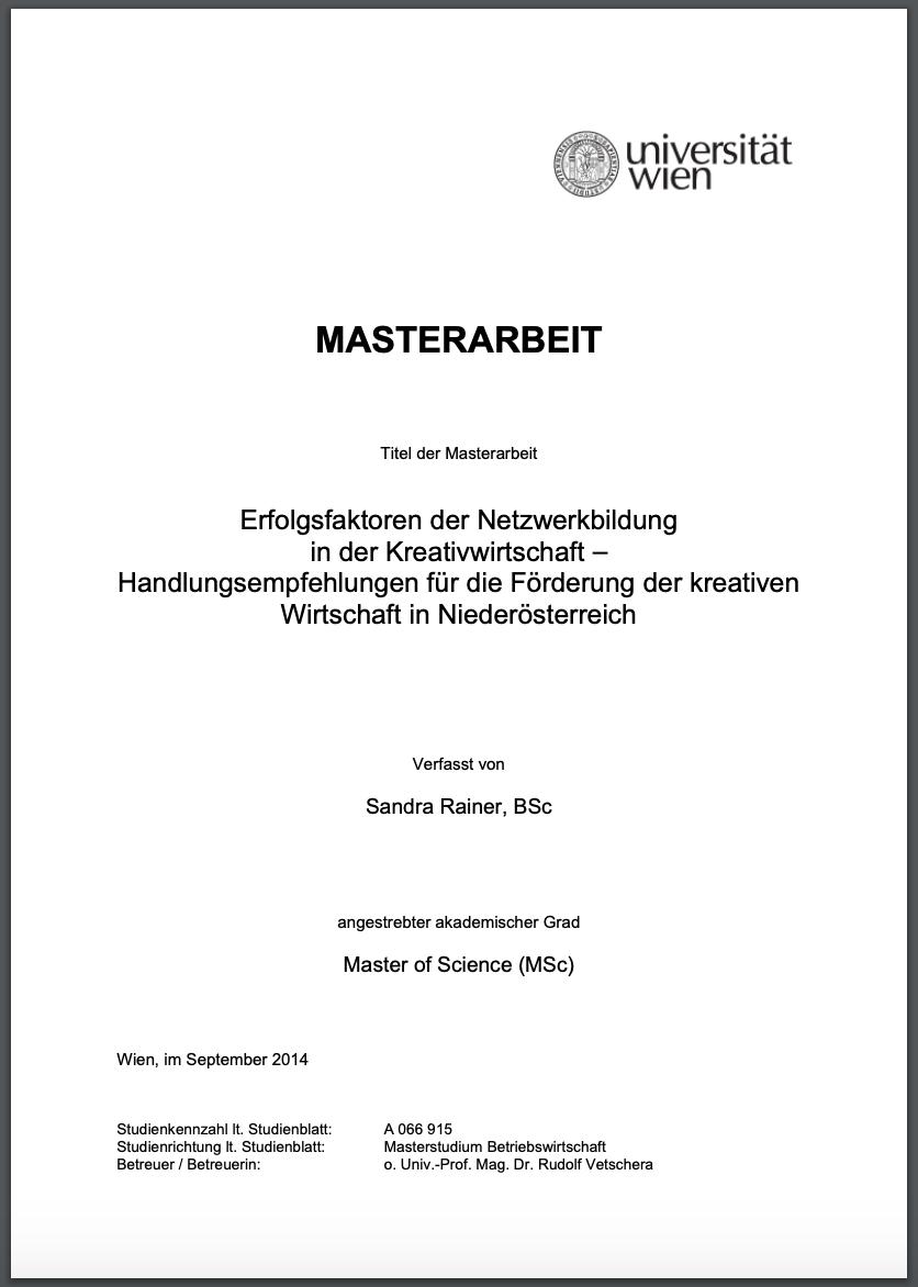 Bachelorarbeit Und Masterarbeit Beispiele Als Pdf 14