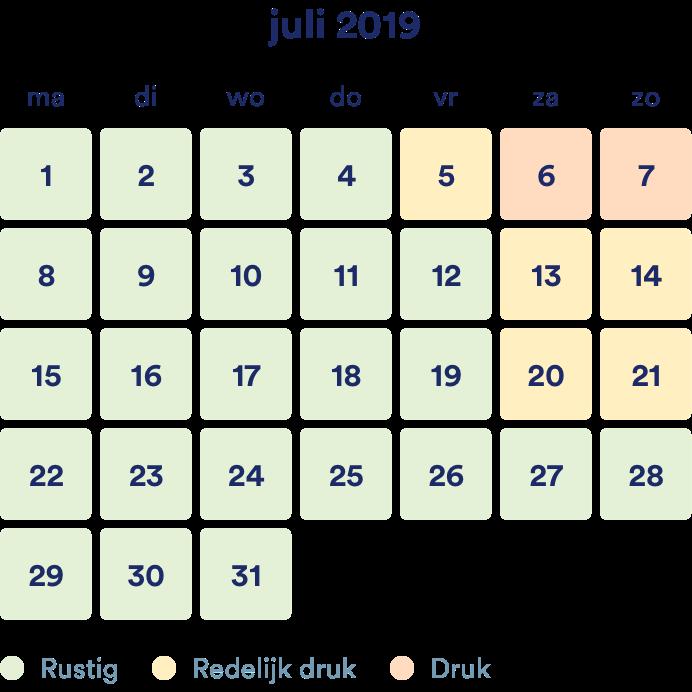 Juli – scriptie nakijken drukte verwachting