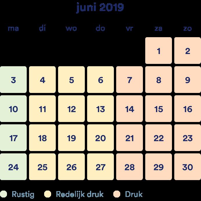 Juni – scriptie nakijken drukte verwachting