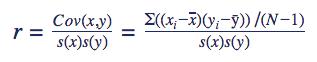 Korrelation Formel