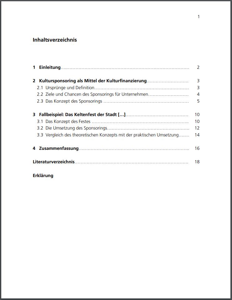 Deckblatt Zur Hausarbeit 10 Tipps 5 Vorlagen