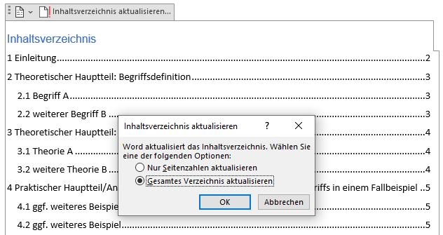 inhaltsverzeichnis-facharbeit-word-akutalisieren