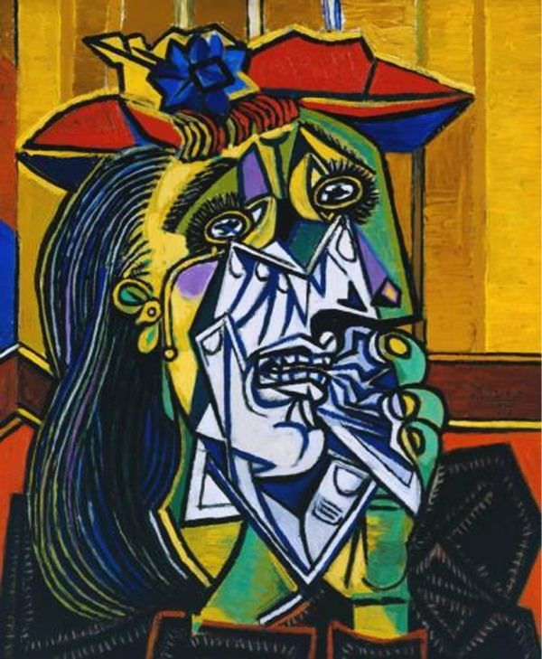 La femme qui pleure Picasso