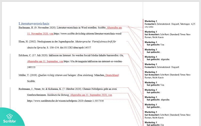 literaturverzeichnis-mit-word-änderungen-scribbr