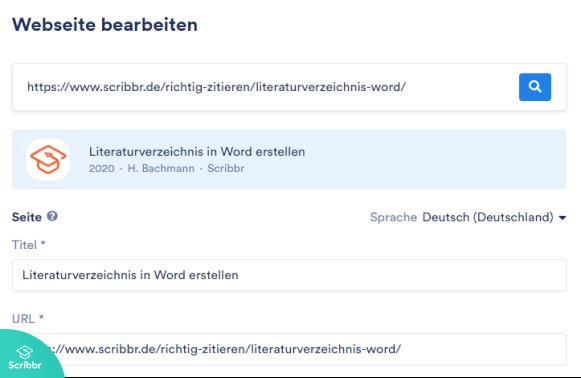 literaturverzeichnis-word-scribbr-generator-quelle-ausfüllen