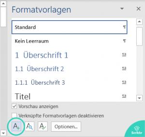 anhangsverzeichnis-word-neue-formatvorlage-scribbr