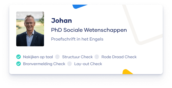 Johan ID card